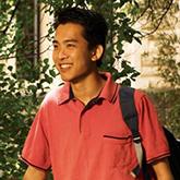 Portrait of a male UWA student